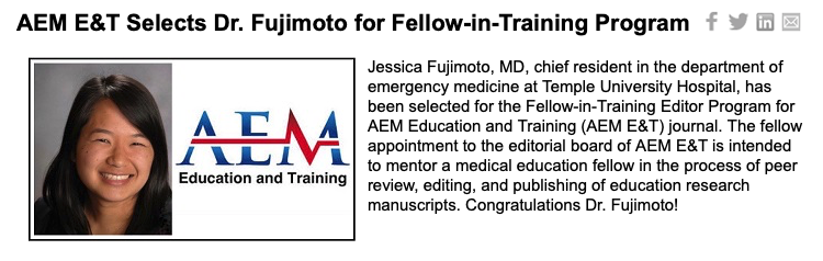 AEM Education and Training Journal