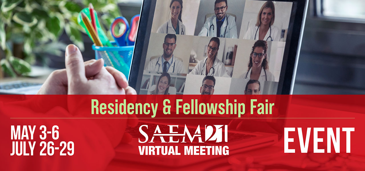 SAEM21 VM EVENT Residency Fellowship Fair 1280x600