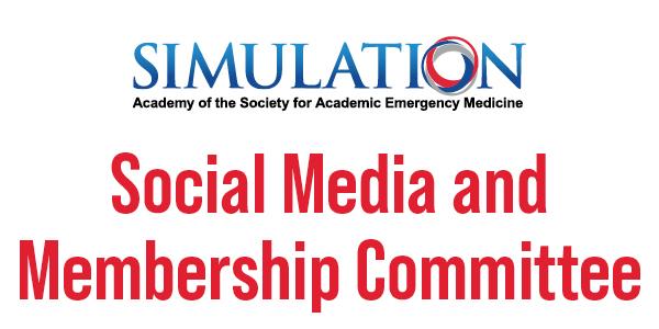 Simulation Social Media and Membership Committee