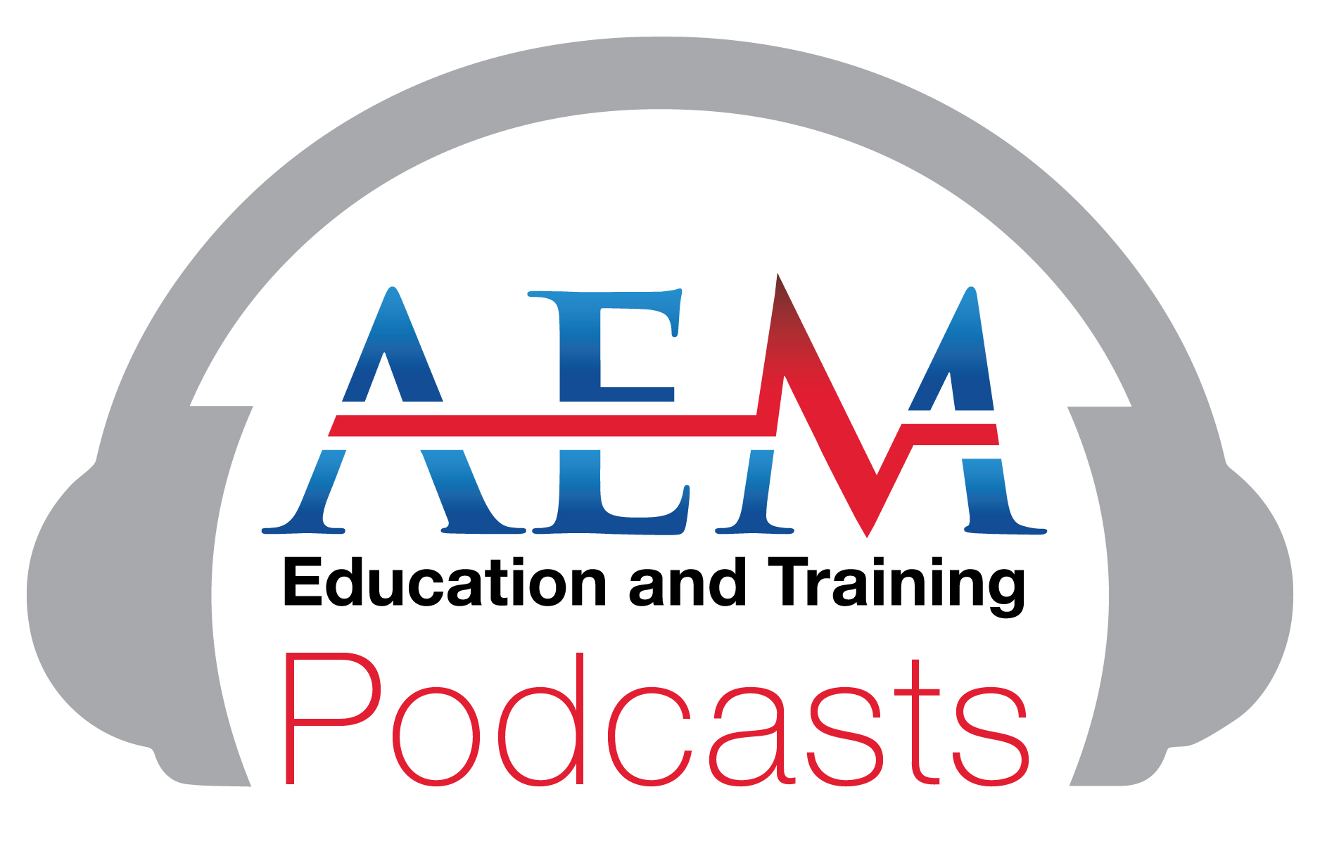 AEM E and T Podcasts logo