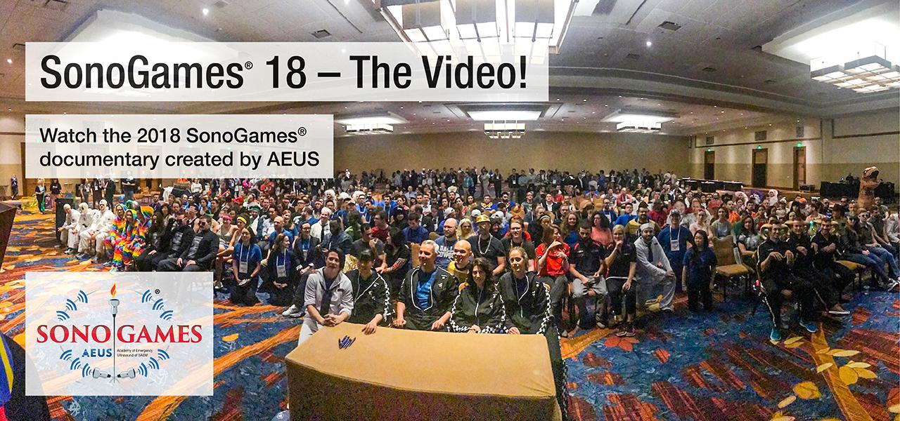 AEUS SonoGames 18 The Video 1280x600