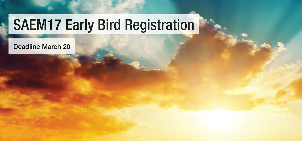 SAEM17 Early Bird Reg Deadline 1280x600
