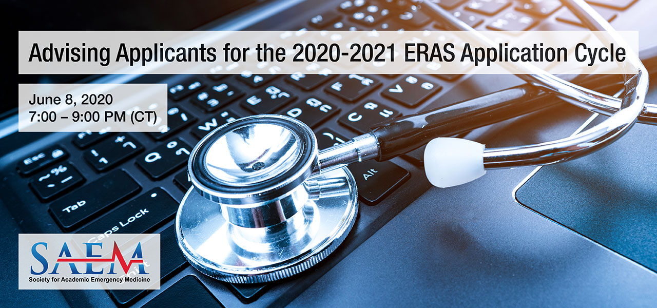 SAEM Advising Applicants for the 2020-2021 ERAS Application Cycle 1280x600 2