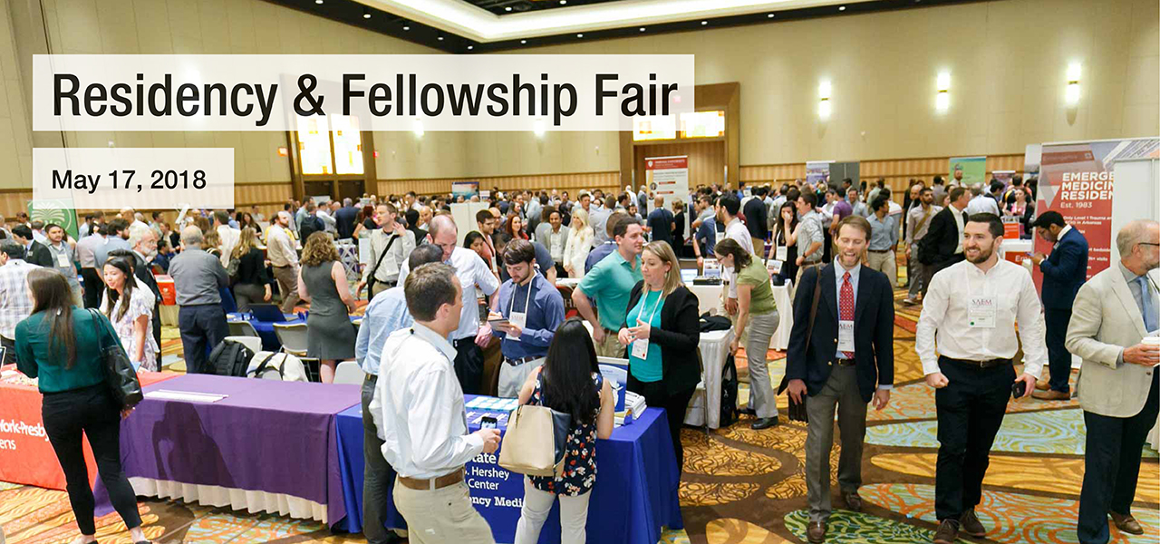 SAEM18 Residency Fellowship Fair 1280x600