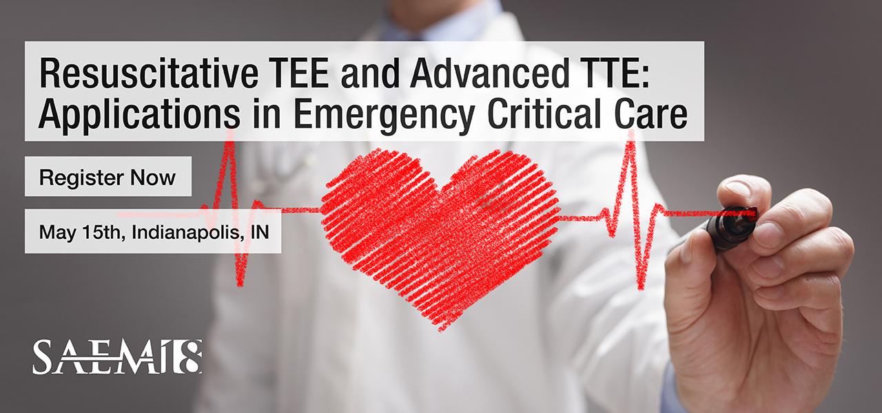 SAEM18 Resuscitative Transesophageal Echocardiography 1280x600 2
