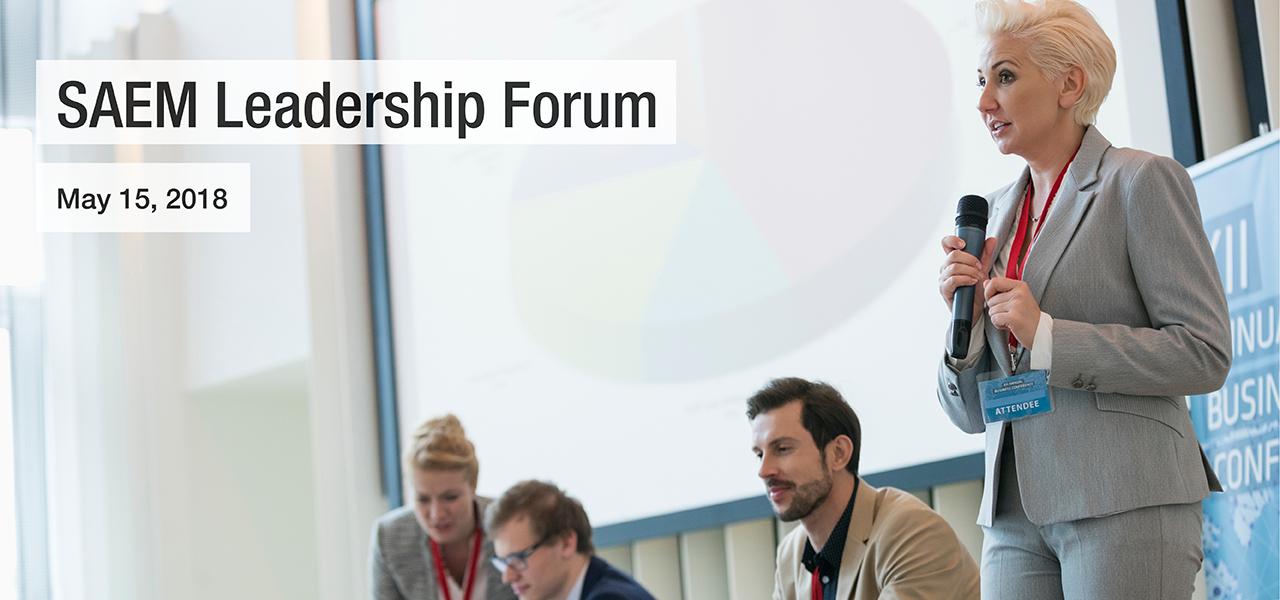 SAEM18 SAEM Leadership Forum 1280x600