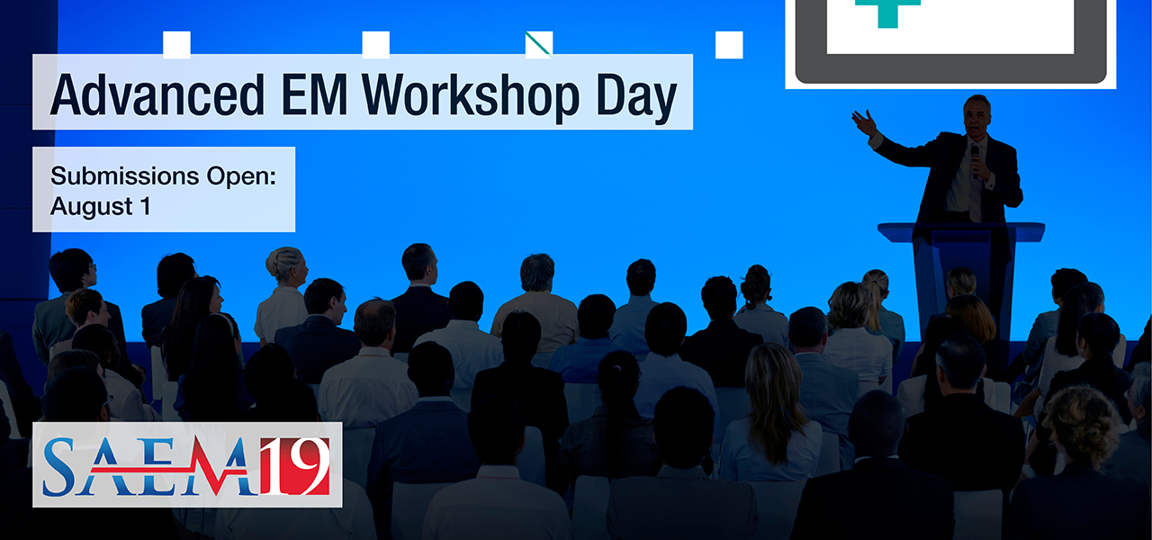 SAEM19 Advanced EM Workshop 1280x600