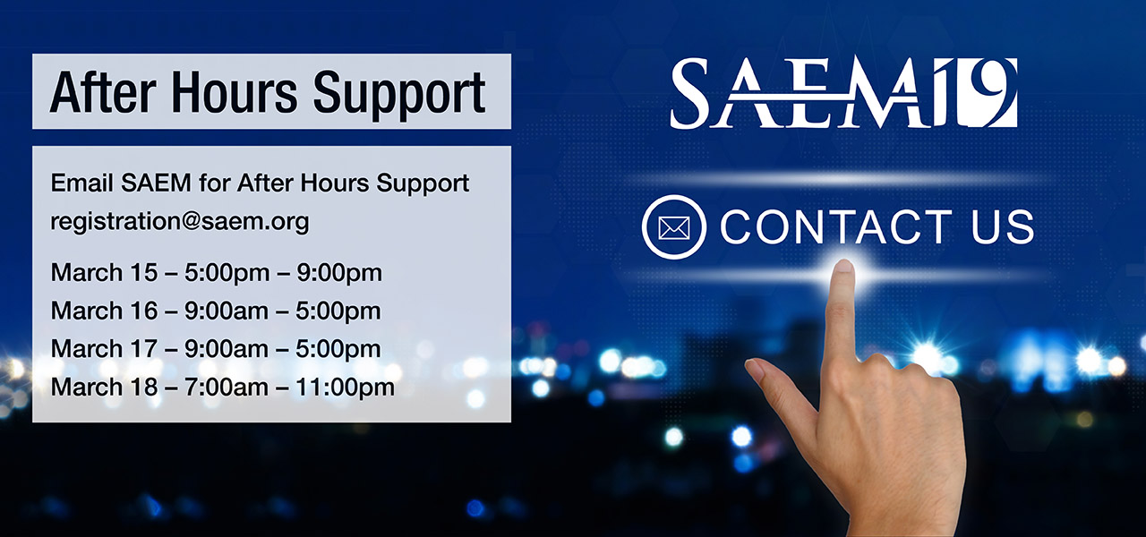 SAEM19 After Hours Support 1280x600 2