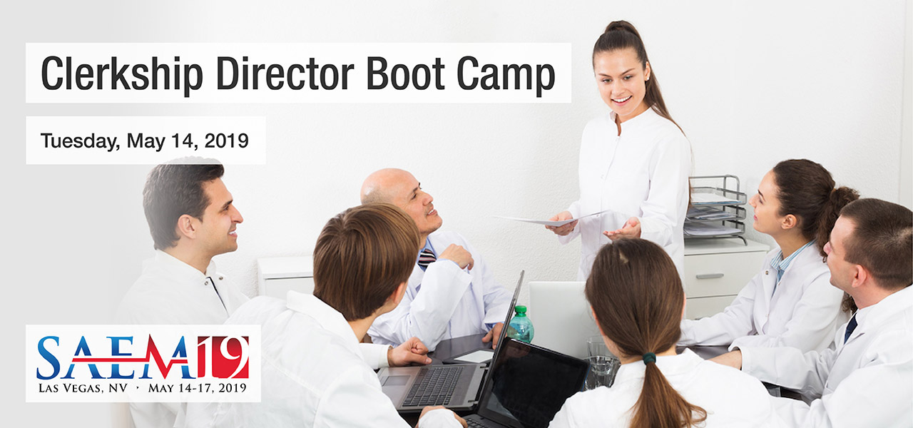 SAEM19 Clerkship Director Boot Camp 1280x600