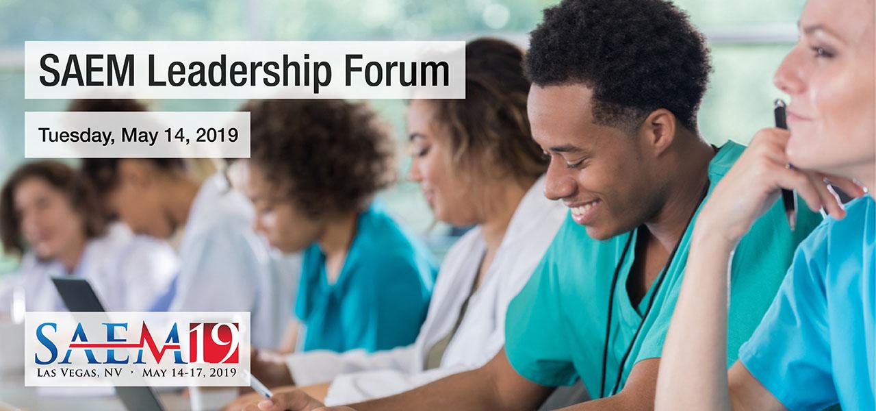 SAEM19 Leadership Forum 1280x600