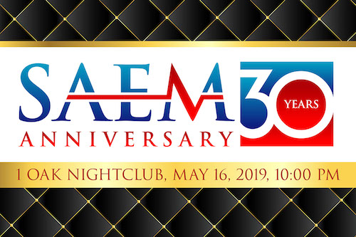 SAEM 30th Anniversary party