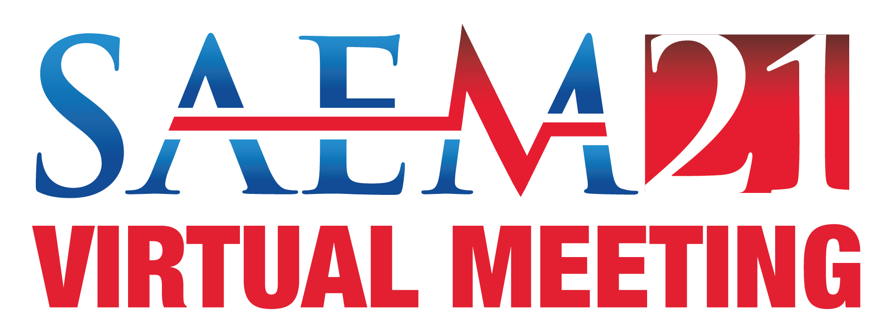 SAEM21 Virtual Meeting logo