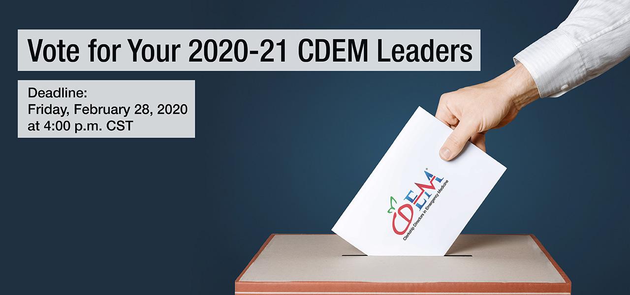 CDEM 2020 Vote 1280x600