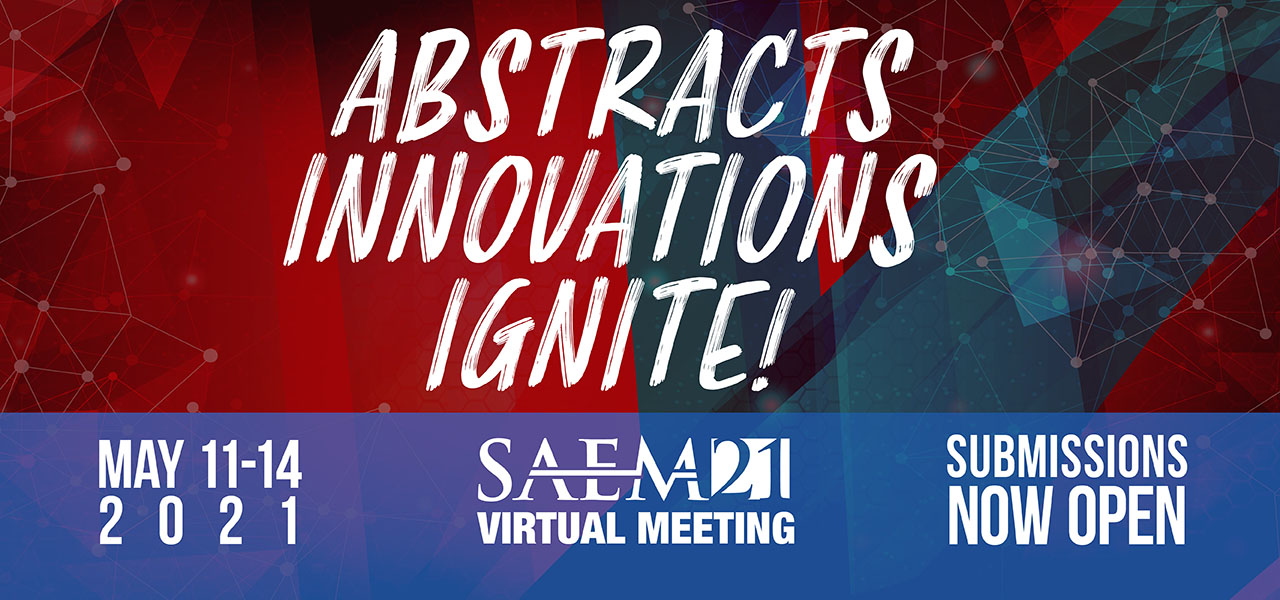SAEM21VM Abstracts Innovations Ignite