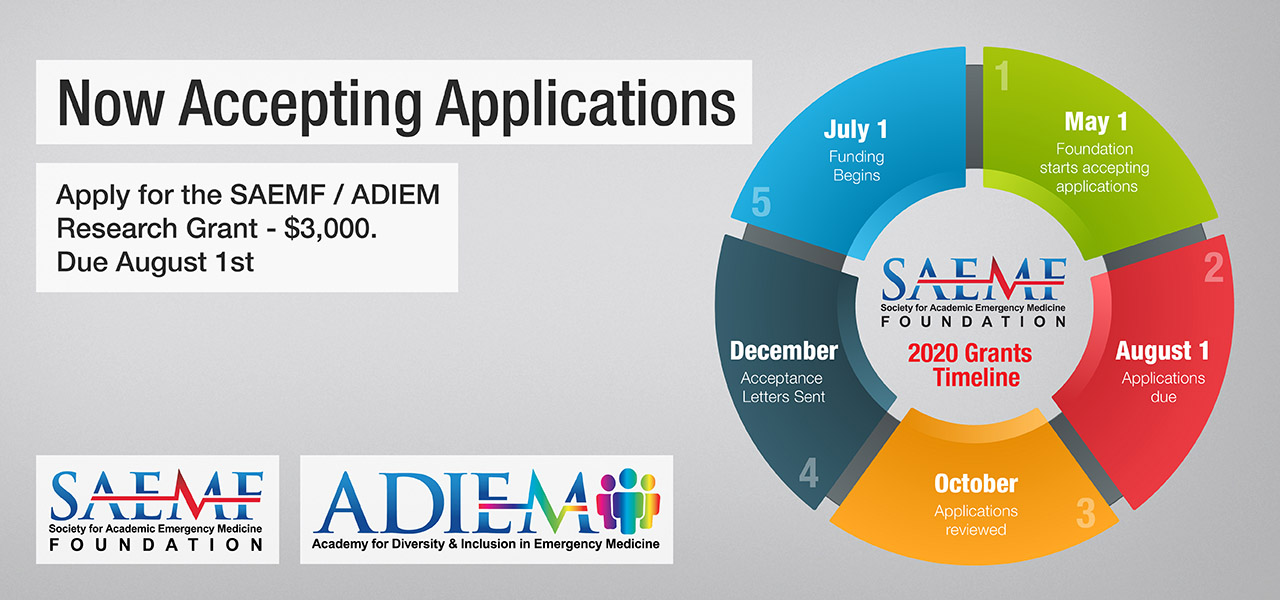 SAEMF 2020 Grant Applications 1280x600 ADIEM