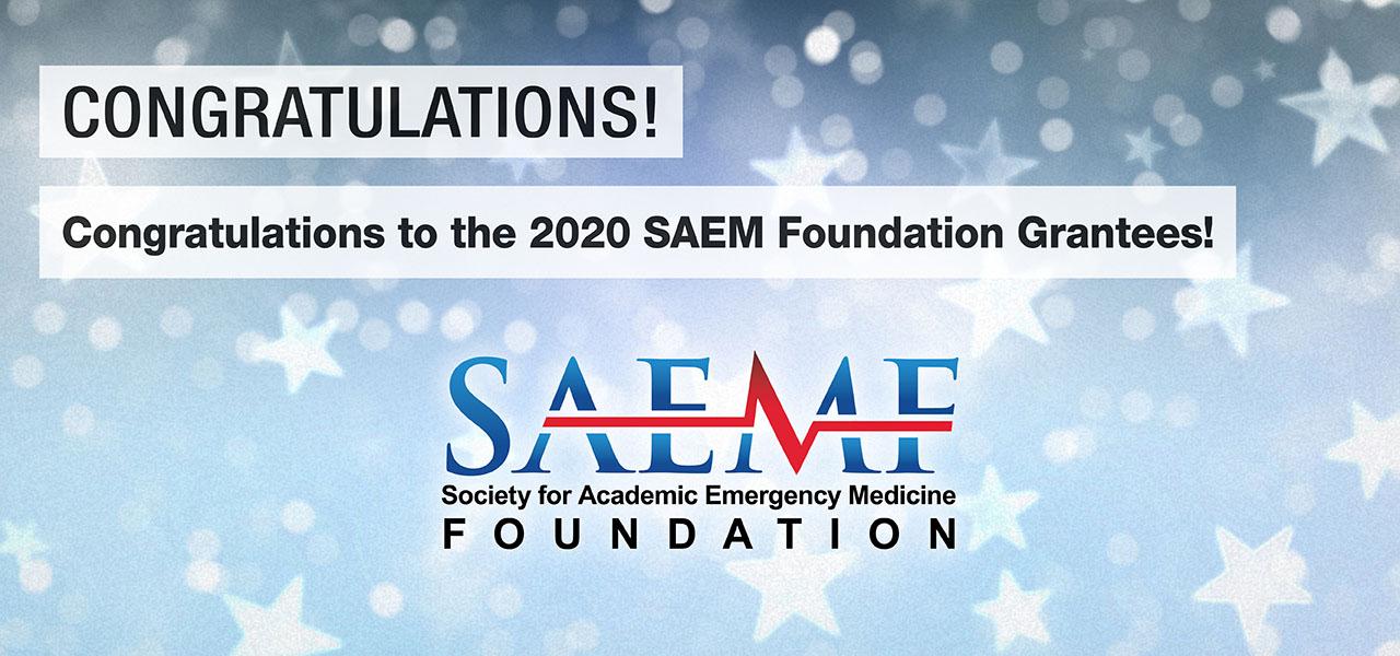 SAEMF 2020 Grantee Congrats 1280x600
