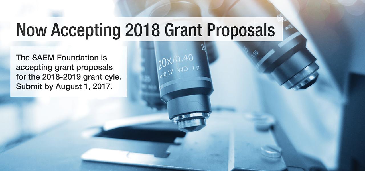 SAEMF 2018 Grant Proposals 1280x600