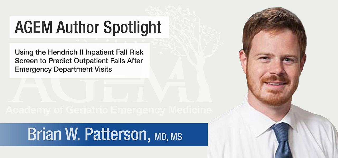 AGEM Spotlight Brian W Patterson 1280x600