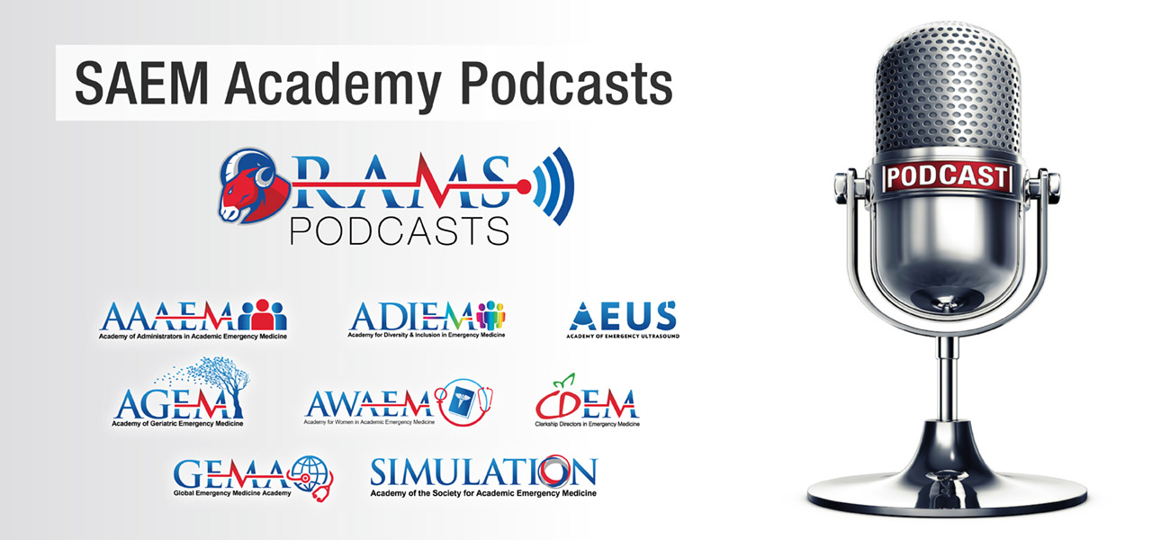 SAEM Acadamy Podcasts 1280x600